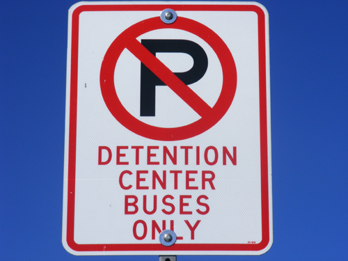 Clark County Detention Center Las Vegas Buses Only
