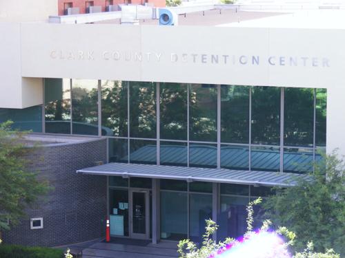 Front Entrance Clark County Detention Center